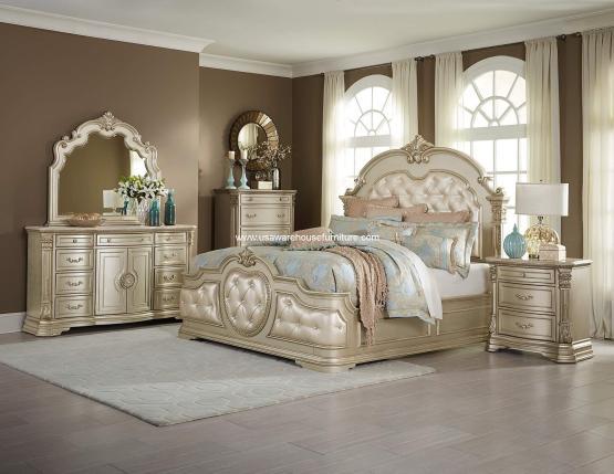 4 Piece Antoinetta Bedroom Set