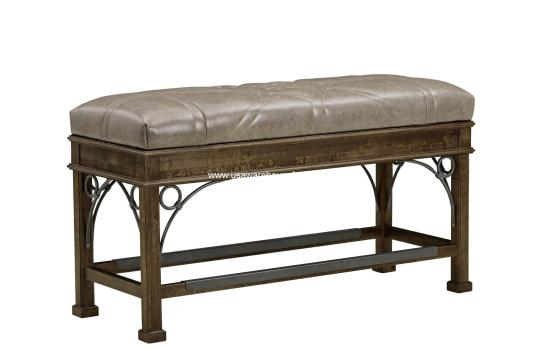 Filly Leather Bench