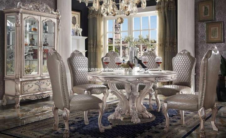 Acme Dresden Round Dining Set