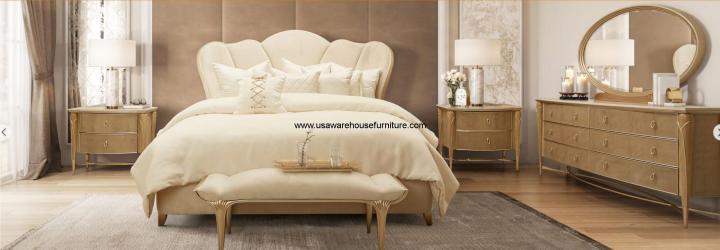 4 Piece Villa Cherie Bedroom Set