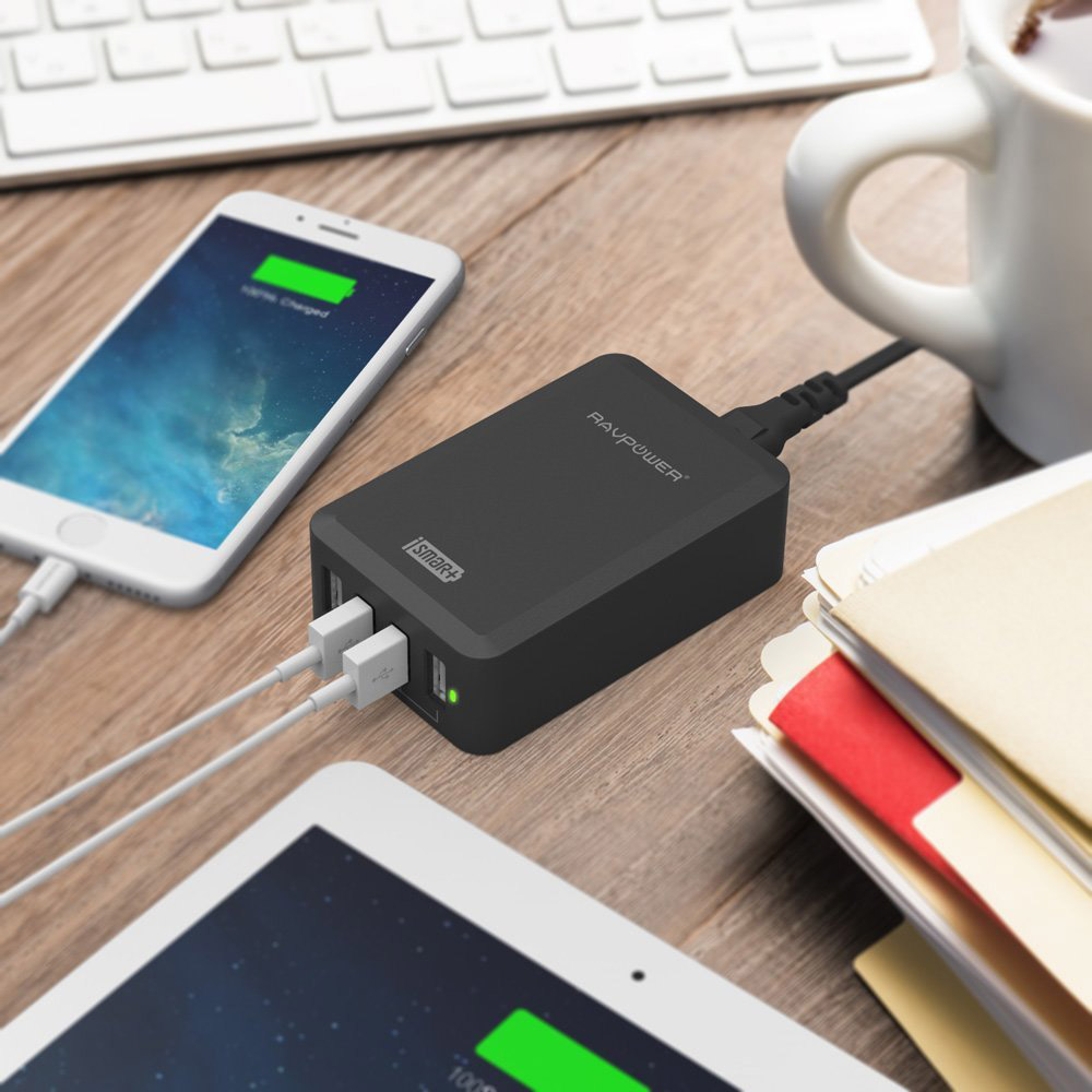 aukey aipower 3 port usb charger usb charger im test. Black Bedroom Furniture Sets. Home Design Ideas