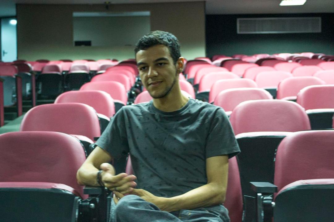 Evandro Souza, estudante de audiovisual (Foto: Marina Barrios).