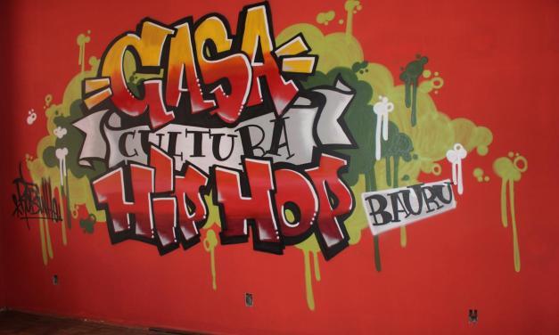Casa do Hip Hop Bauru comemora um ano com atividades no fim de semana