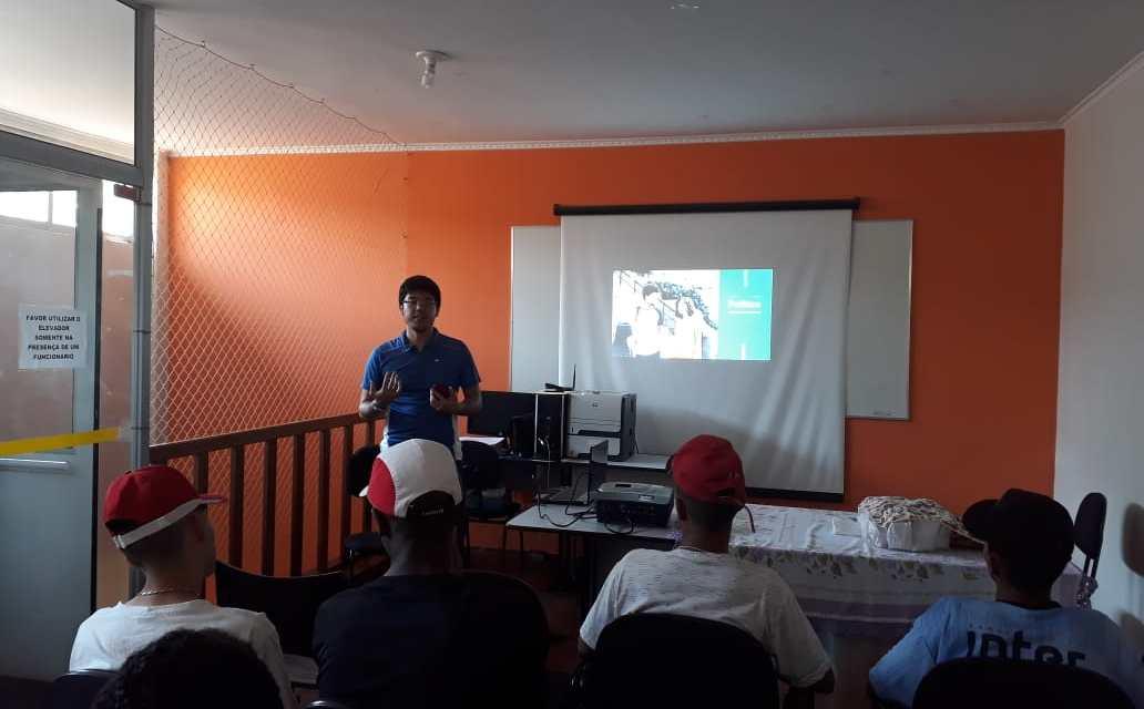 RP Comunica realizou palestra sobre Educação Política no CREAS II em Bauru
