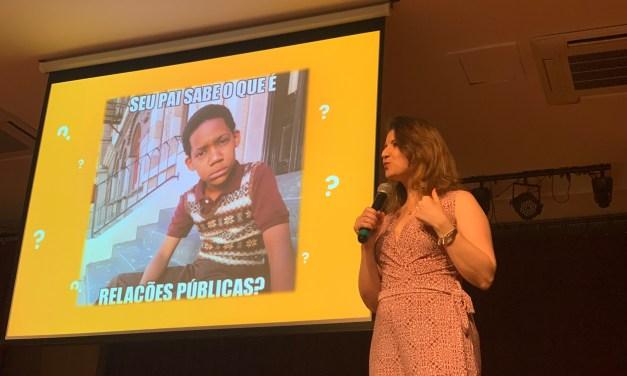 Curso de Relações Públicas debateu a atuação do conselho regional da profissão em evento