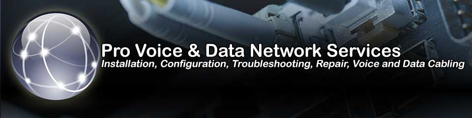 California Onsite Cabling for Voice & Data Networks & Inside Wiring Solutions