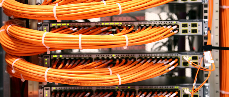 Inglewood California On Site Networks, Voice and Data Wiring Services