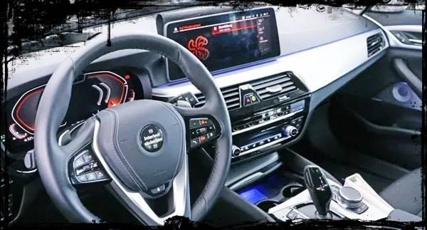 2021 BMW 5 Series Facelift Interior