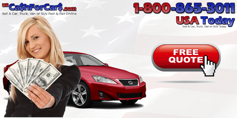 Cash For Cars Online Quote Classy Cash For Cars Sell A Car Instant Quote 18008653011  Cash For