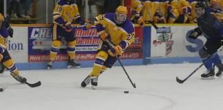 Carter Roo of Wisconsin-Stevens Points (Kylie Bridenhagen)
