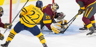 Scott Davidson (22 - Quinnipiac), Joey Daccord (35 - Arizona State) (Omar Phillips 2017)