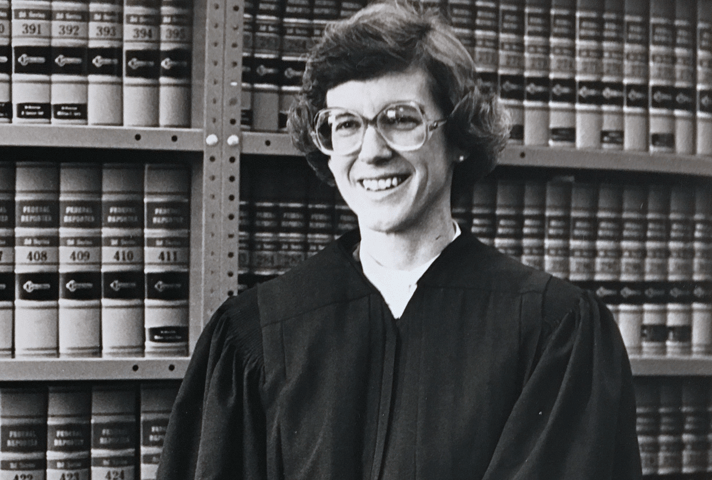 Judge Barbara Crabb.