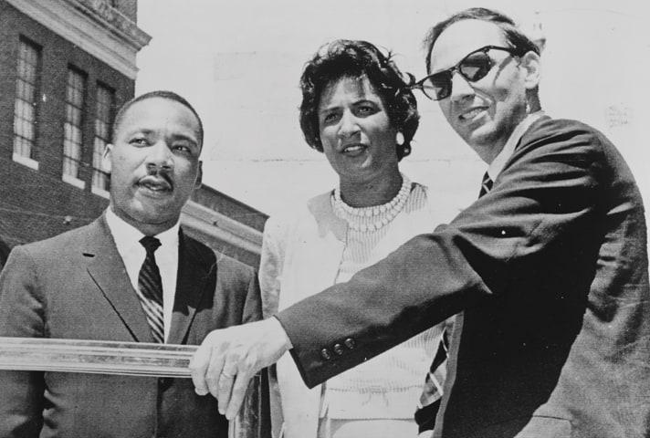 Constance Baker Motley with Martin Luther King.