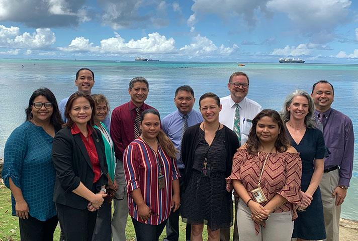 Staff at the District Court for the Northern Mariana Islands Clerk of Court's Office
