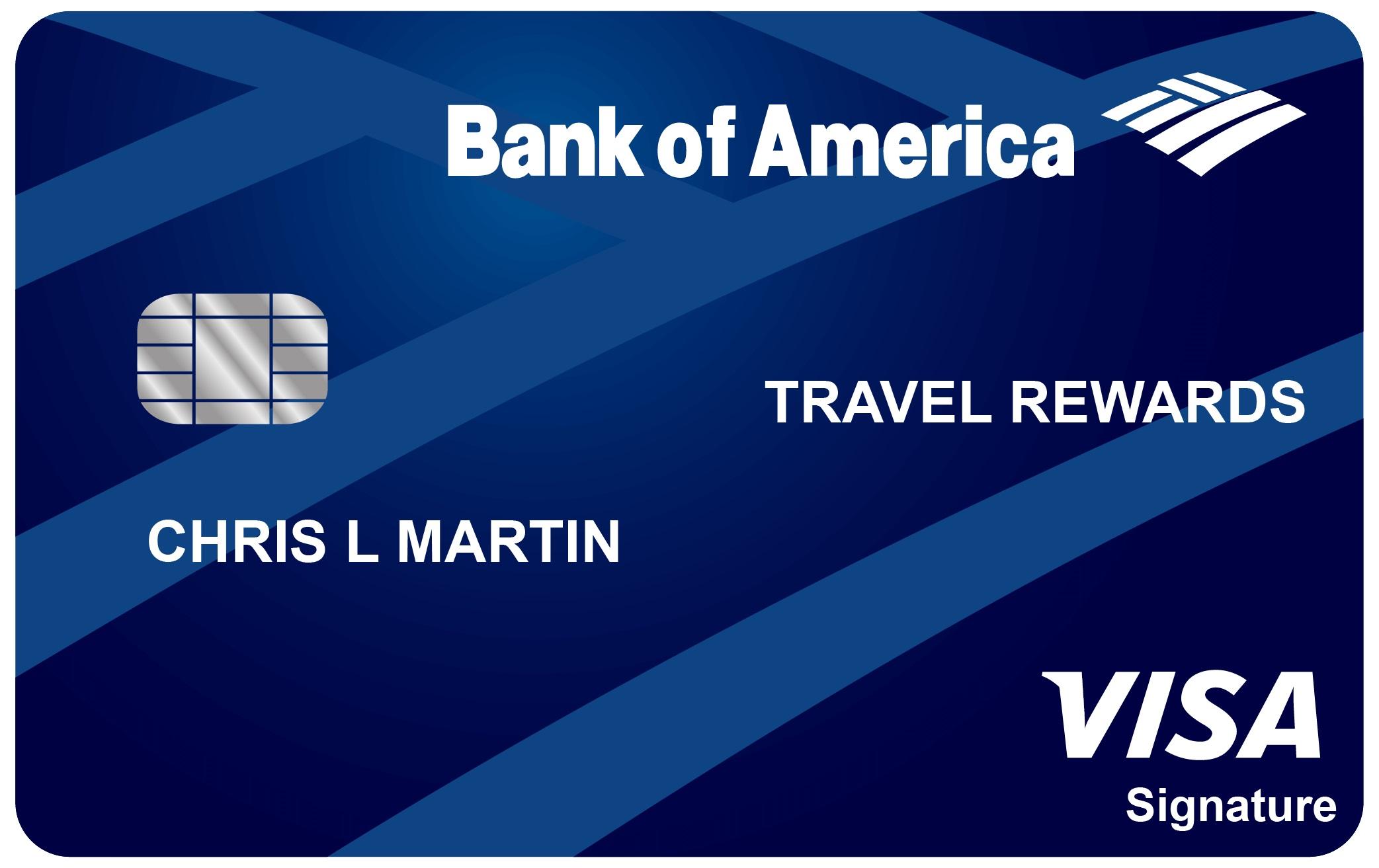 Image result for Bank of America Travel Rewards