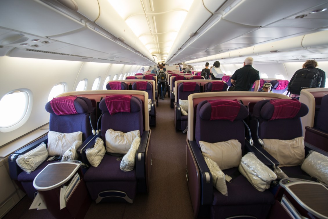 Malaysia Airlines A380 Business Class 1