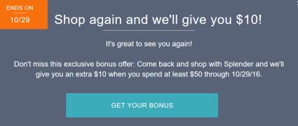 返现网Splender使用指南【10/21更新:花返 target offer】