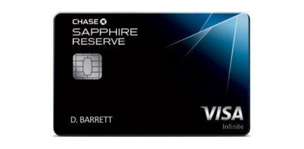 Chase Sapphire Reserve(CSR)信用卡【5/16更新:航空报销改为持卡年】