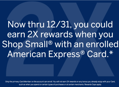 AMEX Small Business Saturday 活动介绍【已过期】