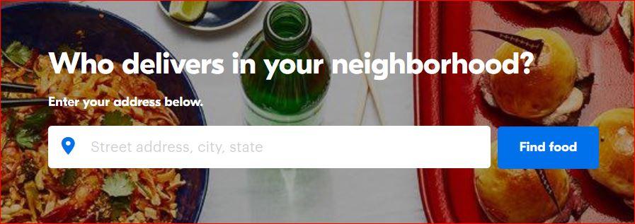 GrubHub - 外送食物 部分地区新用户满优惠 【2/7更新:华盛顿特区DC也可以使用哦】