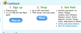 Net cash back SimplyBestCoupons introduced [send registration