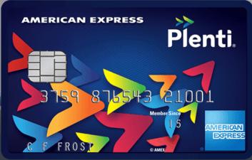 AMEX Plenti 信用卡【已经绝版,用户将被关卡】