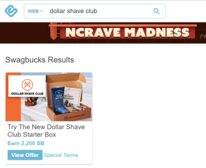 Swagbucks+DollarShaveClub+AMEX Offer=花式倒赚+免费剃须工具【6/22更新:1500SB已pending】