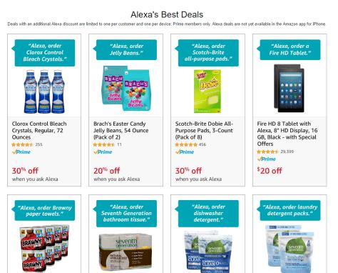 Amazon Alexa 语音购物玩法介绍【7/9更新:reorder送】