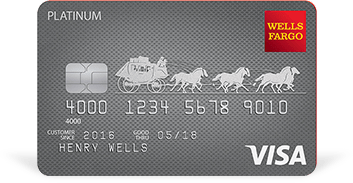 Wells Fargo Platinum 信用卡【送15个月免息期】