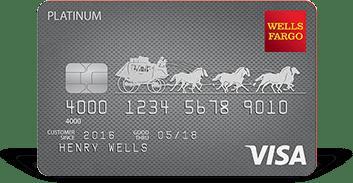 Wells Fargo Platinum Credit card to send a 15-month interest-free period]