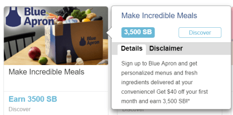 Topcashback/Swagbucks+BlueApron=免费食材+倒赚【4/22更新:5500SB offer,倒赚30】