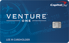 Capital One VentureOne Rewards信用卡【开卡送0+无年费】