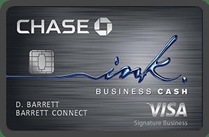 Chase Ink Cash 商业信用卡【开卡送30k积分,无年费】