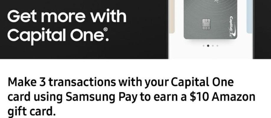 Samsung Pay 使用指南【7/19更新:capital one卡送 amazon,新闻勘误】