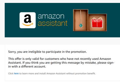 Amazon Assistant免费送钱!【3/30更新:3 off 10又来了,撸起来】
