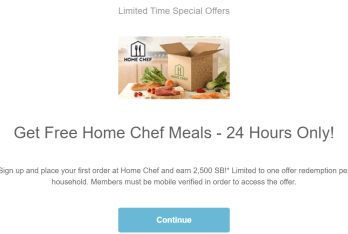 Swagbucks+HomeChef=倒赚+免费晚餐【9/20更新:限时24小时,2500SB offer】