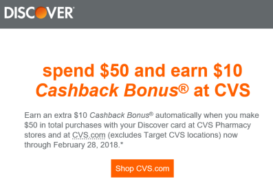 Discover IT信用卡【2/7更新:CVS 返 ,target offer】