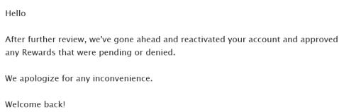 Swagbucks 账户被锁与解锁记【9/16更新:又一次被锁与解锁】