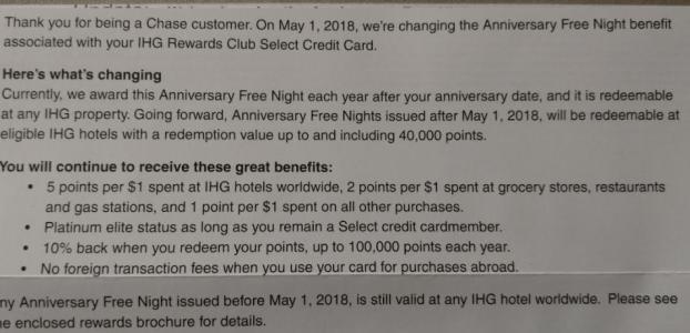 Chase IHG Rewards Club 信用卡【4/5更新:新的申请链接,抓紧了】