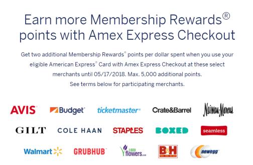 第三方支付手段介绍【4/6更新:AMEX CHECK OUT额外2x积分】