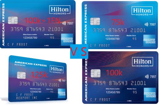四张Hilton联名信用卡该申请哪张?【限时奖励27号过期】