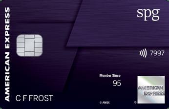 AMEX Starwood Preferred Guest Luxury 信用卡【新卡上线,100k开卡奖】
