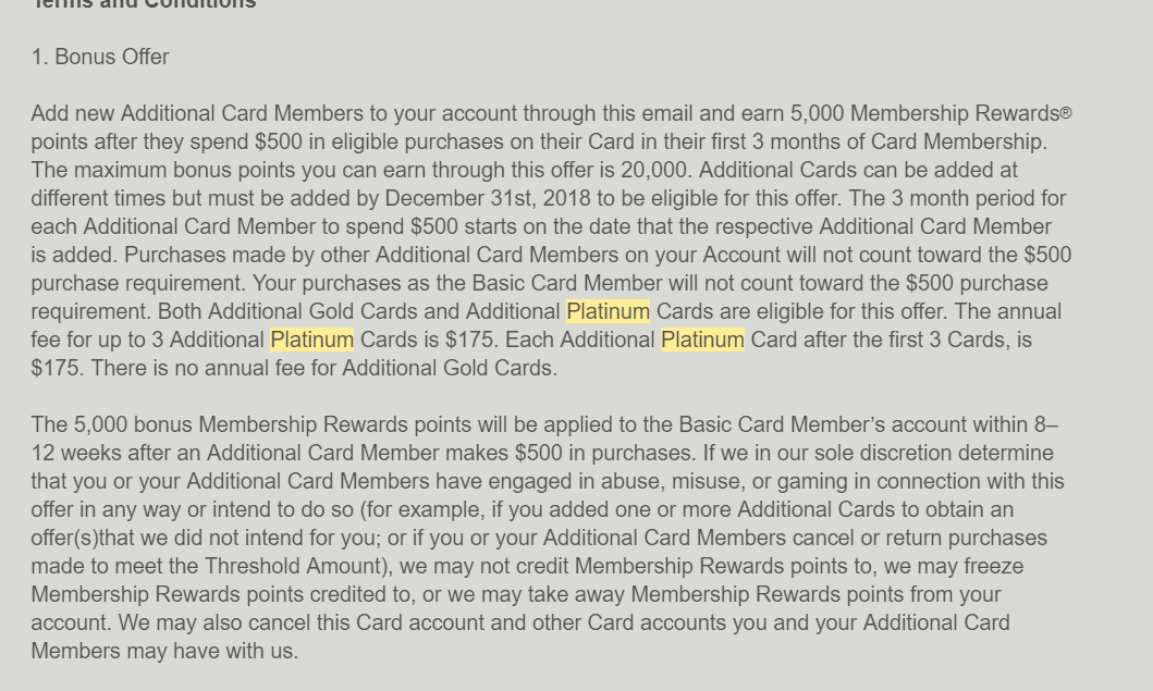 AMEX Platinum——高端福利卡【12/6更新:添加副卡最多得20k MR】