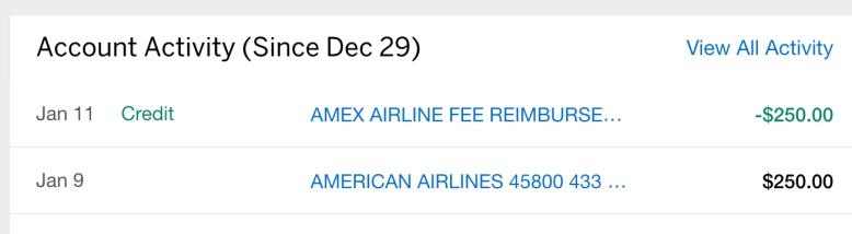 AMEX航空报销简介和技巧【1/14更新:2019年报销情况汇总】