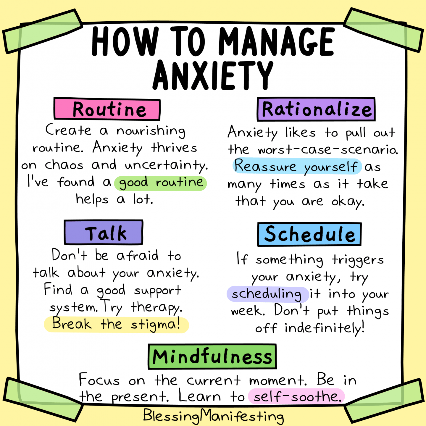 How To Manage Anxiety
