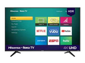 Hisense 50 inch Class 4K UHD LED Roku Smart TV