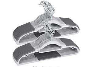 50 Pack Heavy Duty Hangers with Non-Slip Pads