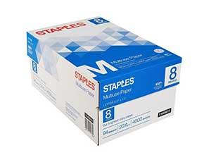Staples Multiuse Copy Paper