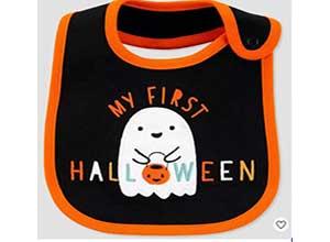 Baby My First Halloween Bib