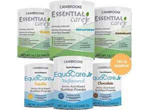 free sample of Essential Care Jr
